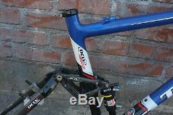 17 Trek Fuel 100 OCLV Carbon 120 frame with Rockshox SID rear shock (excellent)