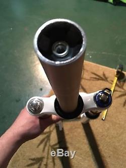 2011 Rockshox SID RLT Ti 26 Fork 15mm 1-1/8 Steerer With Tapered Adaptor