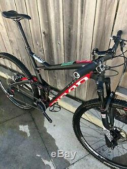 2017 Niner RKT 9 RDO XL Carbon Mountain Bike withRockShox Sid Fork