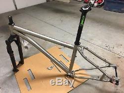 2018 Lynskey 29er Titanium Mountain Bike Frame Rockshox Sid