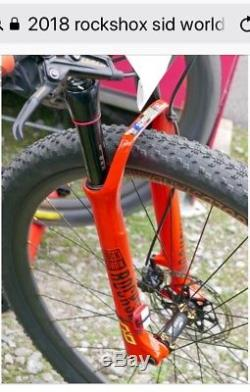 2018 Rockshox Sid World Cup Charger2 Damper Best Money Can Buy Brand New