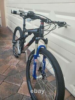 26 TITUS Carbon x Frame Mountain bike rock shox sid race shimano deore xt