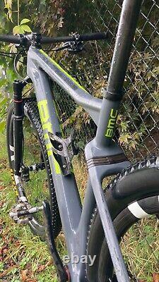 BMC Teamelite 01 size M Sram XX1 AXS Rock Shox SID FFW Outlaw carbon wheels