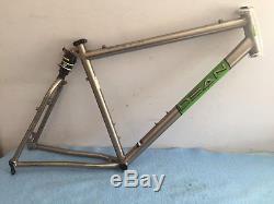 DEAN Duke X-Lite Titanium Mountain Bike Frame Rock Shox Sid Softail Ti Large xtr