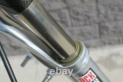 Fork MTB Rock Shox Sid Black Box Carbon 26 V-Brake 1 1/8 Silver Retro