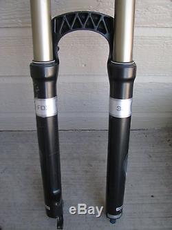 Fox Fork F29 100 RLC 32 Fork Black Straight Non Tapered 1 1/8 -rockshox reba sid