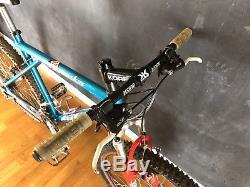 GT Zaskar Retro Vintage Mountain Bike Custom Race Face XT Rock Shox SID Mavic