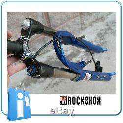 Gabel MTB Rock Shox Sid Schwarz Box Kohlenstoff 26 V-Brake 1 1/8