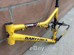 Gary Fisher Sugar SAAB Team Edition FS Large 20 MTB Frame Rock Shox SID