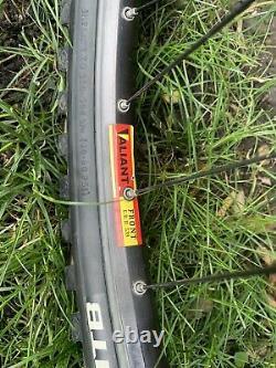 Ibis Mojo handmade Steel Mountain Bike XS classic Vintage Rock Shox SID Shimano