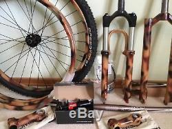 LAND SHARK Mountain Bike frame, RockShox SID World Cup, DT Swiss, many extras