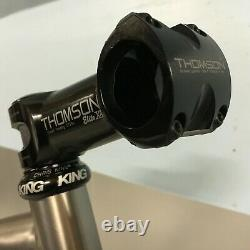 LiteSpeed Ocoee MTB Frame Set RockShox SID, Chris King ti, Thomson Masterpiece