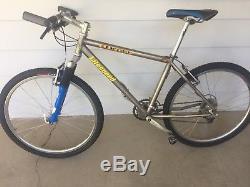 Litespeed Ocoee Titanium Mountain Bike, Rock Shox SID, Original Shimano XT Group