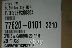 NEW 2021 SPECIALIZED S-Works Epic 29 XC Carbon Frame RockShox SID SL Fork XS