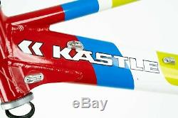 NOS KASTLE XC-D 900 FRAME VINTAGE FULL MTB 90s ROCK SHOX SID CROSSCOUNTRY NEW