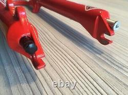 NOS Rock Shox SID XL Triple Clamp Downhill Fork Red Circa 2000