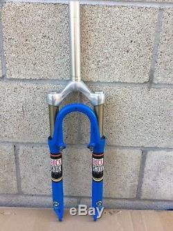 Rare Vintage Rock Shox Sid 1 1/8 X 7 3/8 26 Wheel Suspension Fork Nice Cnd
