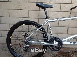 Rare vintage Cannondale Los dos tandem bike shimano xt rock shox sid nice