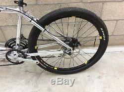 Rare vintage Cannondale Los dos tandem bike shimano xtr m900 rock shox sid nice