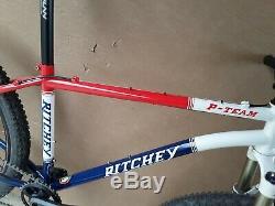Ritchey P team 26 Shimano Slx rockshox sid worldcup xtr m970 wheelset frame bike