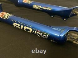 Rock Shox SID Race Titanium Ti Mountain Bike Fork Rim V Brake Disc 26 Wheel 26
