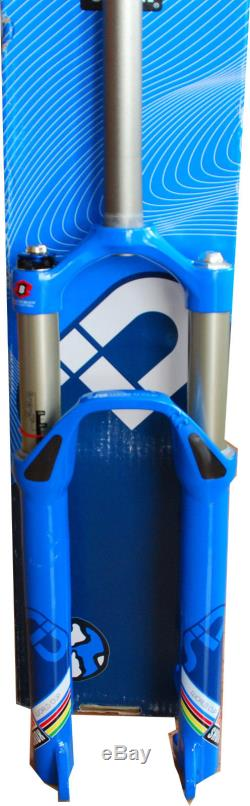 Rock Shox SID WORLD CUP BLUE 26 BLACK BOX 1509g NOS BOXED New Old Stock