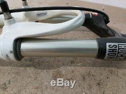 Rock Shox SID World Cup Carbon 28mm fork, 80mm travel 1-1/8 titanium studs