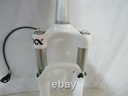 Rock Shox SID XX 100mm 29er Tapered Fork 15x100mm White W Xloc Dual Air