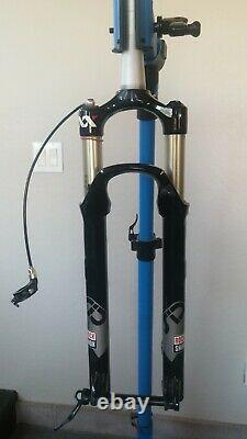 Rock Shox SID XX, 100mm with Remote and 15mm Maxle Thru Axle