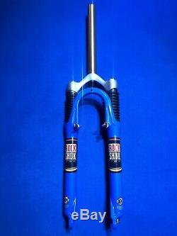 Rock Shox Sid SL 26 Blue Air Oil Mountain Bike Suspension Fork V-brake Disc New