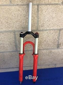 Rock Shox Sid Sl Dual Air 1 1/8 X 8 1/8 26 Wheel Suspension Fork Nice Cnd