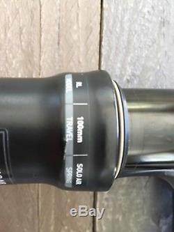Rock shox Sid RL 29/27.5 Taper Boost 100mm Black