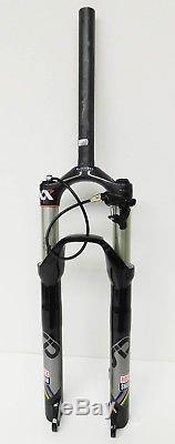 RockShox 26 SID XX WC Dual Air Carbon Steer MTB Fork 100mm withRemote QR Black