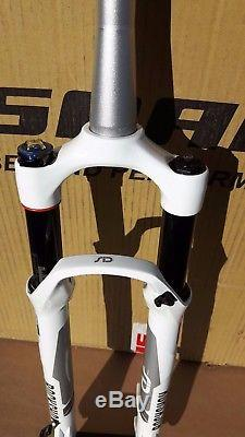 RockShox SID RLT Solo Air 29er Forks With OneLoc Remote Lockout White New OEM