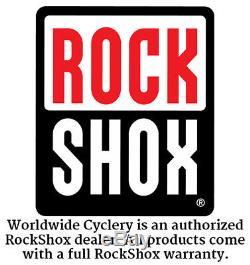 RockShox SID Reba Crown Steerer Upper Tube Assembly SA 29 46 Offset Tapered Blac