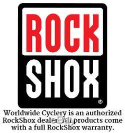 RockShox SID World Cup Fork 29 100mm 15x100mm Remote Tapered Steerer B1 White