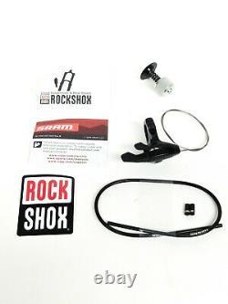 RockShox SID World Cup MTB XC Fork 27.5 Boost 100mm Travel White Carbon #3584