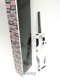 RockShox SID World Cup MTB XC Fork 27.5 NonBoost 100mm Travel White Carbon #3609