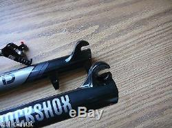RockShox SID XX Suspension Fork 27.5 Bike 100mm Travel Tapered XLoc 9mm QR New