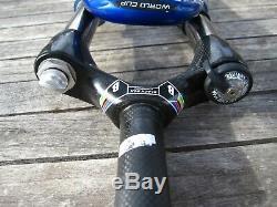 RockShox Sid World Cup 80mm Fork Carbon Steerer 26 disc or rim brake 1330g