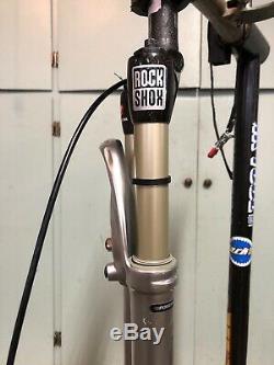 RockShox Sid World Cup Carbon Fiber Crown/steerer, 26,80mm Travel, 1 1/8, Remote