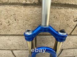 Rockshox SID Race Titanium Dual Air Fork 26 Mountain Bike MTB 1 1/8 x 7 5/8