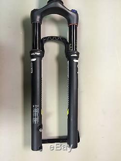 Rockshox SID Solo Air Brain Fork 29 90mm 15mm Thru Axle Black Carbon Used