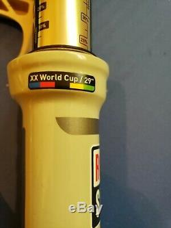 Rockshox SID XX World Cup Carbon 29er Fork remote lockout tapered 100mm 15x100