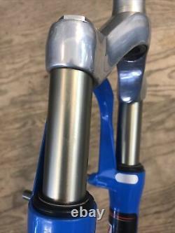 Rockshox Sid Blue 60mm 1-1/8 26 Mountain Bike Fork Rim Brake 1st Gen 1998