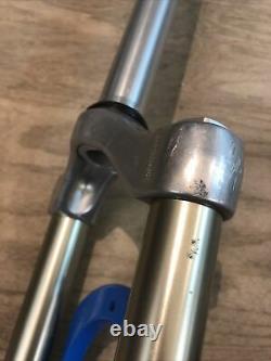 Rockshox Sid Blue 80mm 1-1/8 26 Mountain Bike Fork Rim/Disc Brake