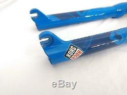 Rockshox Sid Race World Cup Dual Air Blue Straight Steer Tube