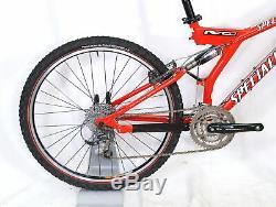 Specialized S-Works FSR XC 16 Aluminum Full Suspension 3x9 XTR RockShox Sid