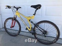 Specialized Stumpjumper FSR XC Mountain Bike Rock Shox SID