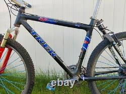 Trek STP 400 Softail full XTR Rock Shox Sid Spinergy wheels OCLV carbon, large